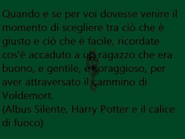frase di harry potter