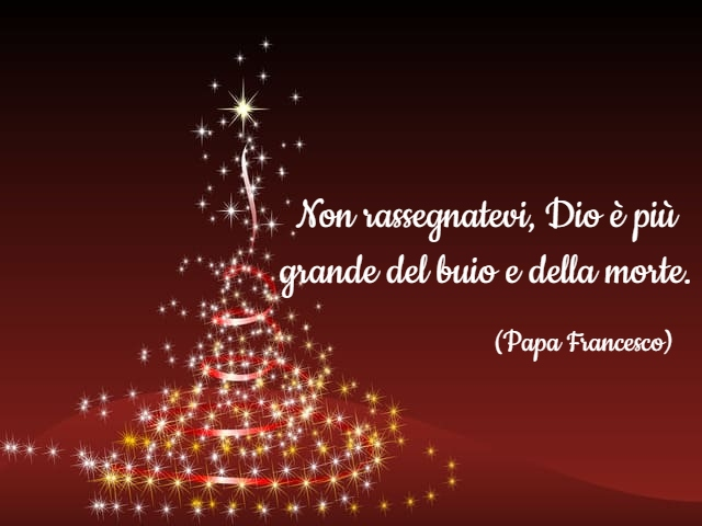 frase natale papa francesco