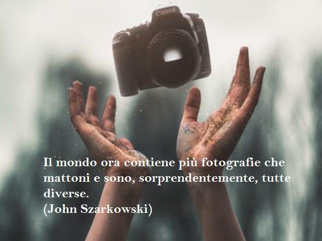 frase sulla fotografia