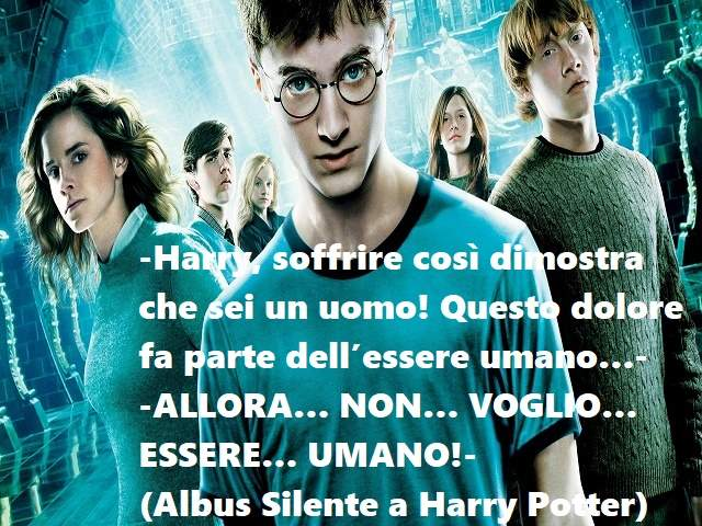 frasi amore harry potter