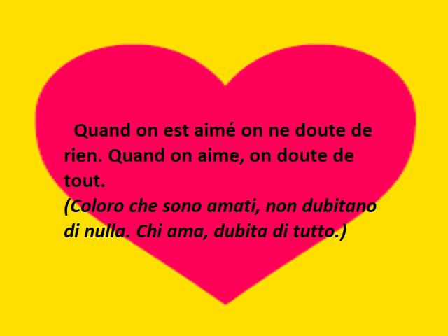 frasi amore in francese