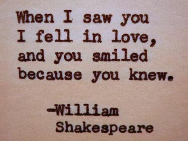 frasi amore william shakespeare