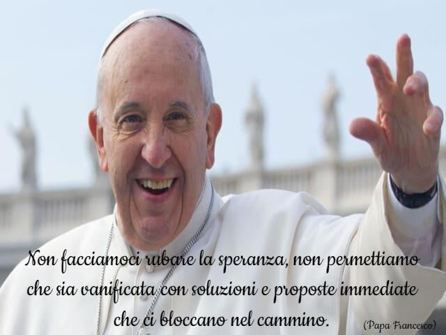 frasi belle di papa francesco