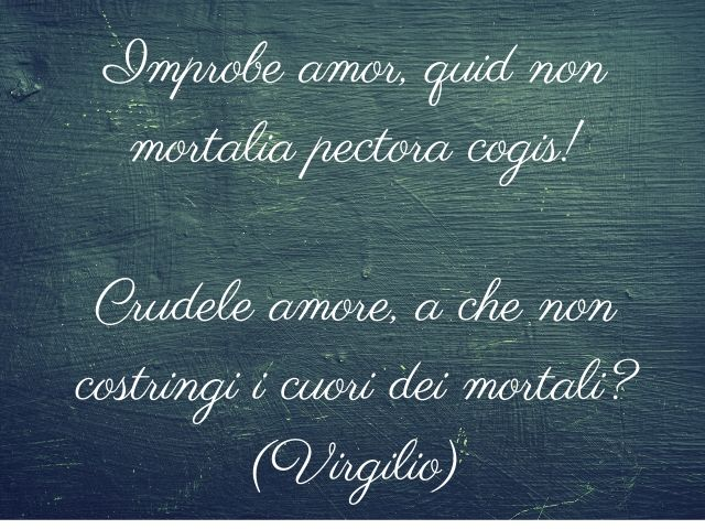 frasi d'amore in latino famose