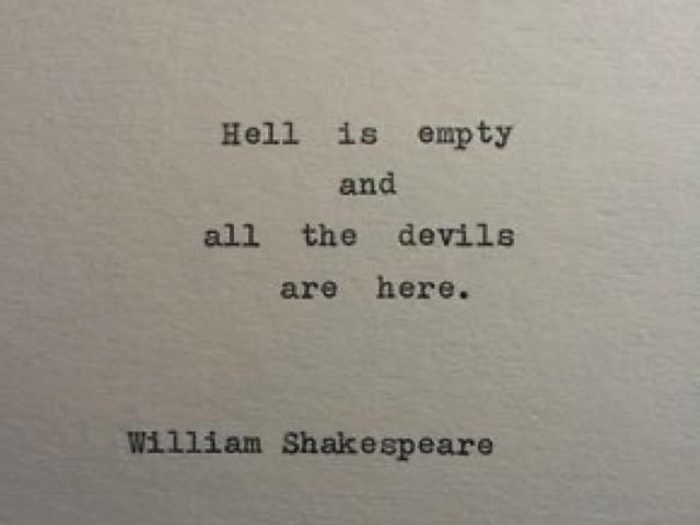 frasi famose shakespeare