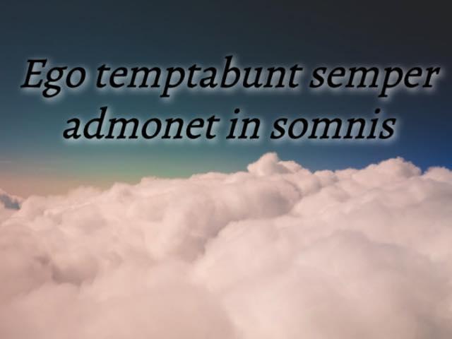 frasi in latino da dedicare