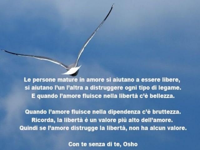frasi Osho amore