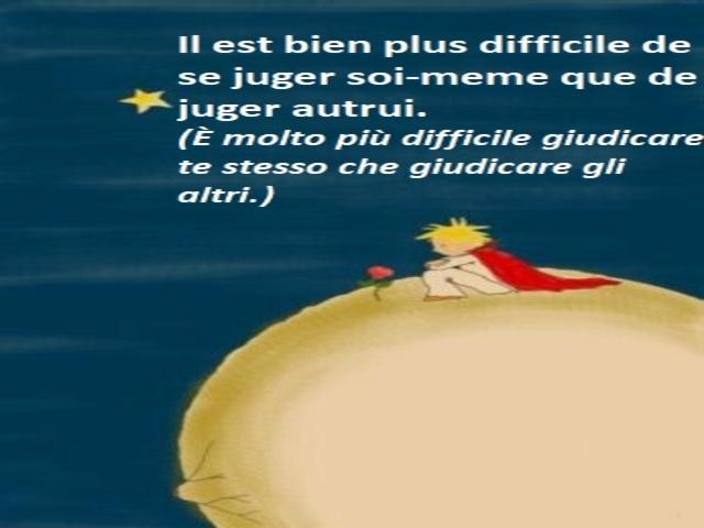 frasi piccolo principe in francese