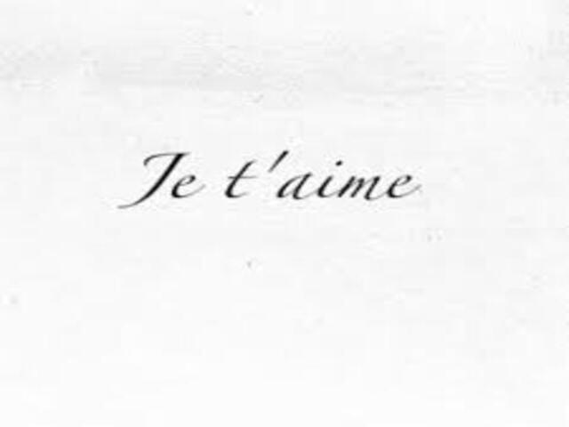 frasi romantiche in francese