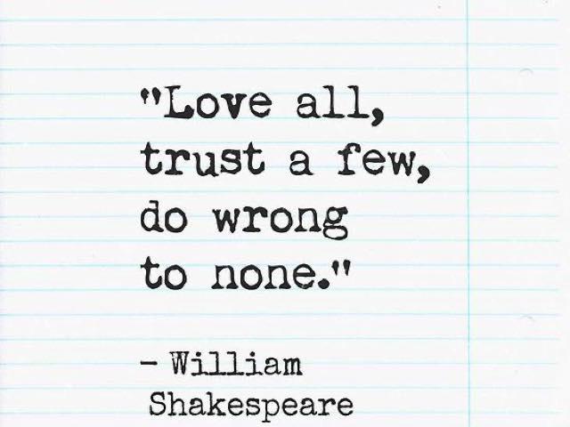 frasi shakespeare amore