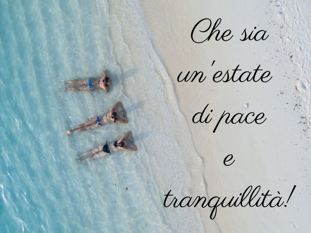 sere d estate frasi