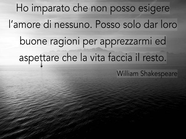 shakespeare frasi amore