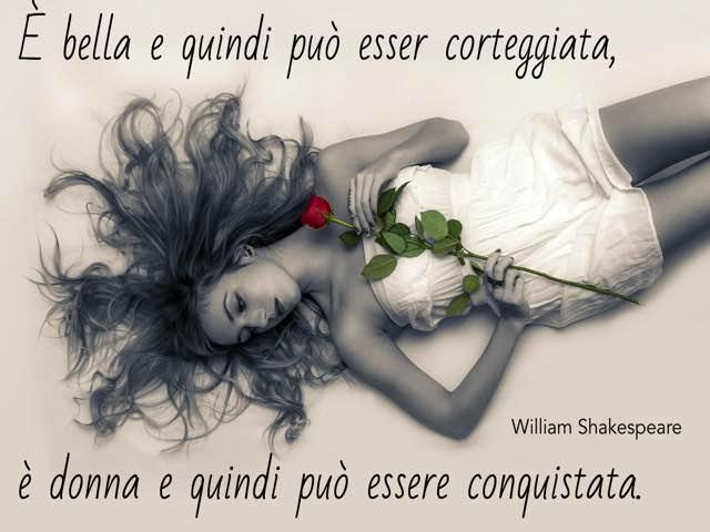 shakespeare frasi sulle donne
