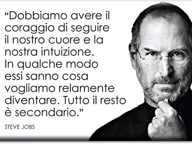 Frasi celebri Steve Jobs