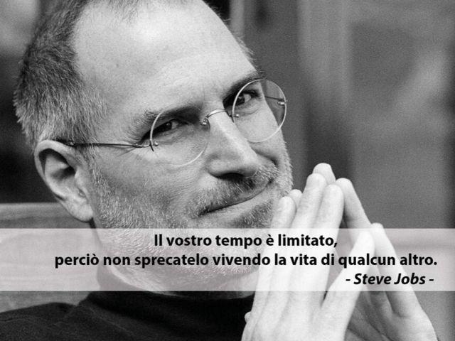 Frasi famose Steve Jobs sulla vita