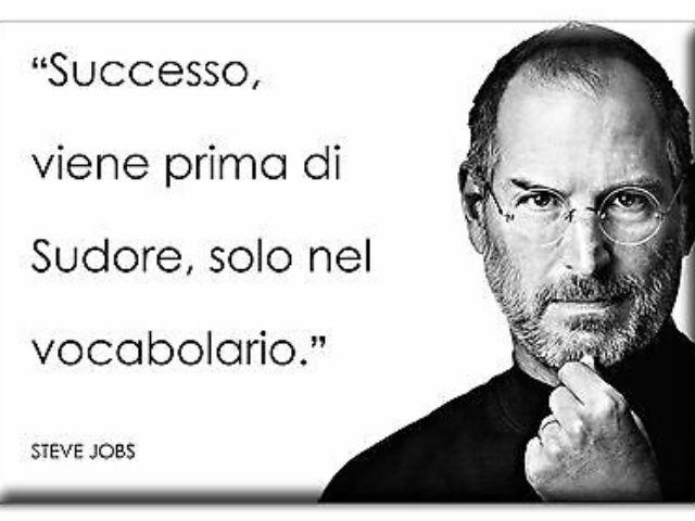 Frasi motivazionali famose Steve Jobs