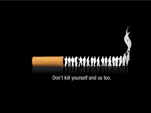Immagini contro vizio del fumo
