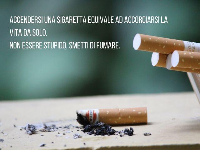 Immagini e frasi sul fumo