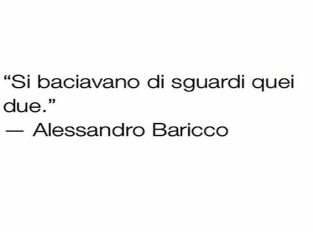 aforismi Alessandro baricco
