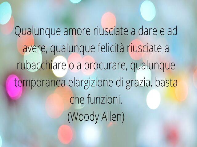 aforismi Woody Allen