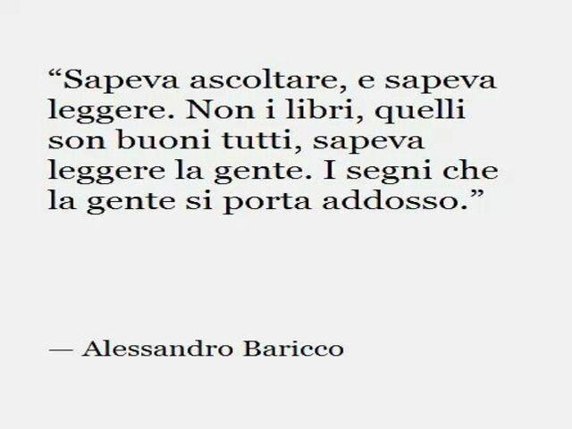 Alessandro Baricco frasi celebri