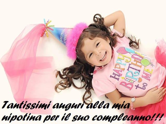 auguri di buon compleanno per una nipote