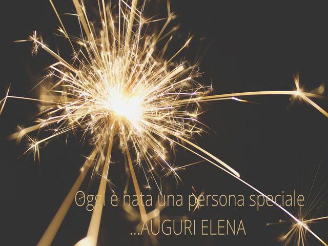 auguri Elena