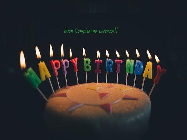auguri lorenzo buon compleanno