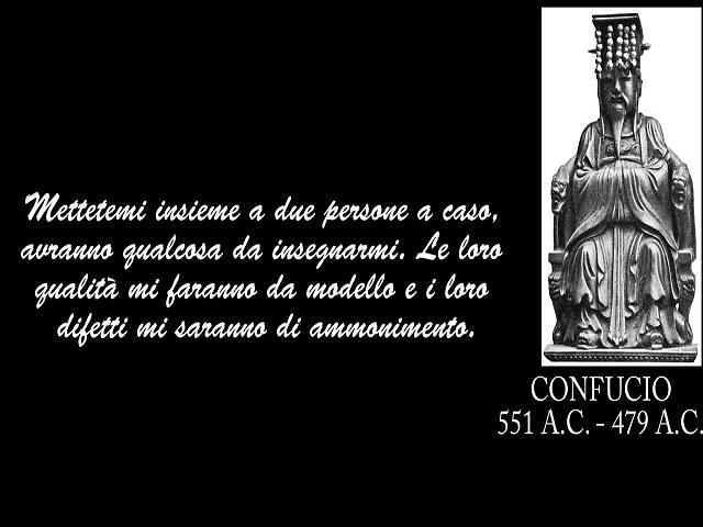 citazioni confucio