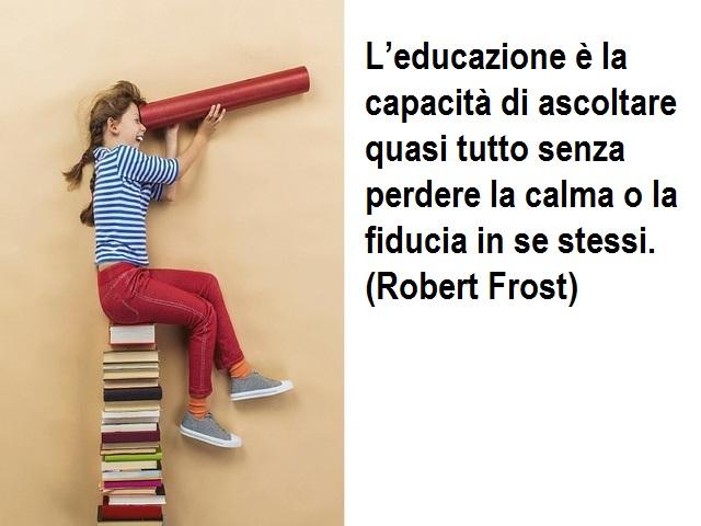 citazioni educazione