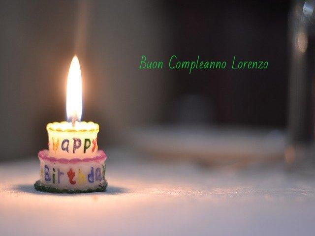 compleanno Lorenzo