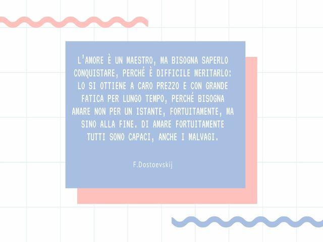 Dostoevskij Frasi