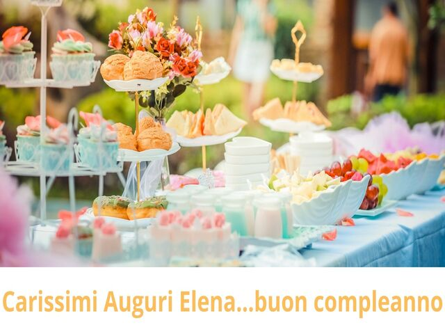 frase compleanno Elena