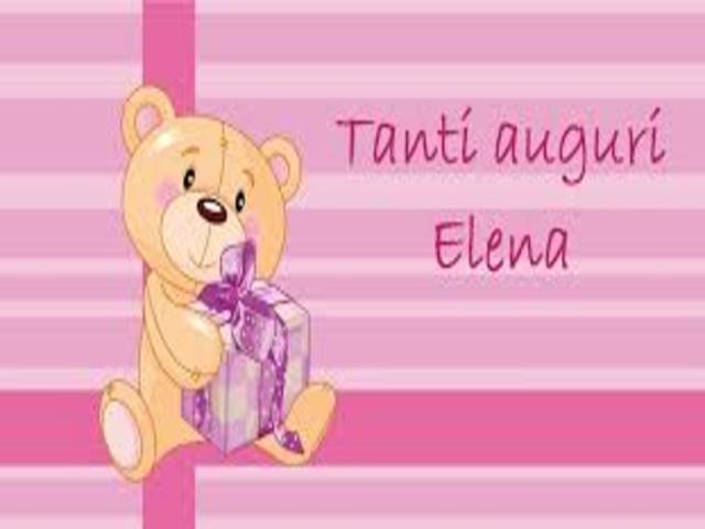 frasi auguri Elena