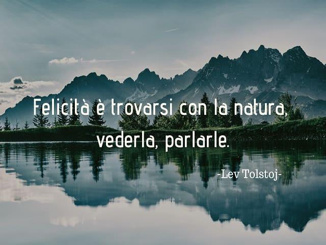 frasi belle natura