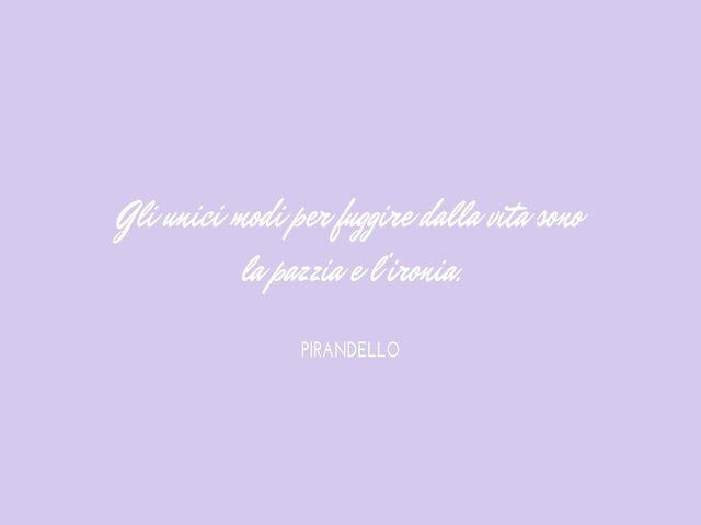 frasi di Pirandello