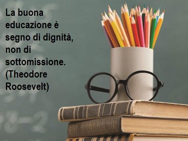 frasi educazione