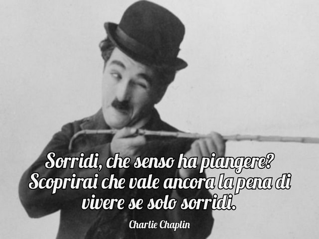frasi famose di Charlie Chaplin