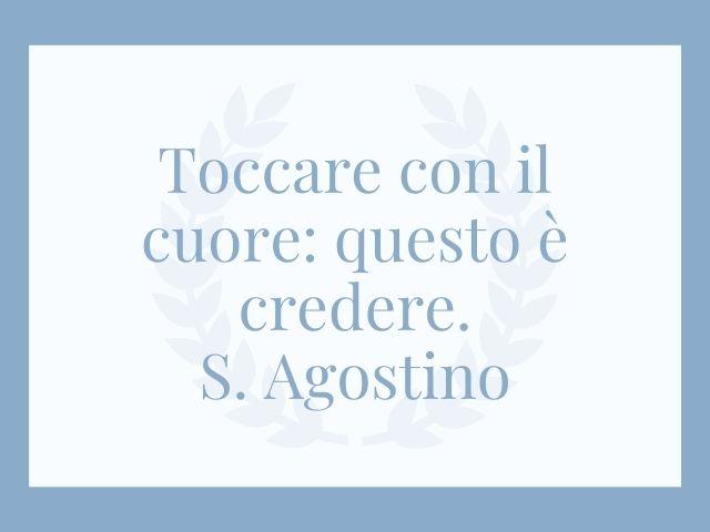 Frasi Sant'Agostino: 275 pensieri e immagini sulla fede, l'amore e la morte - A Tutto Donna