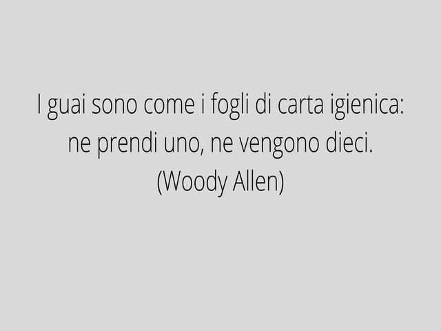 frasi film Woody Allen
