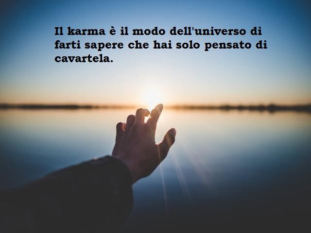 frasi karma