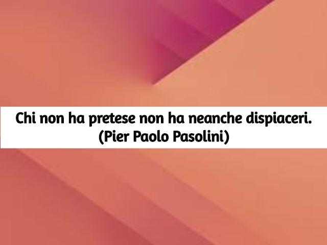 frasi pasolini