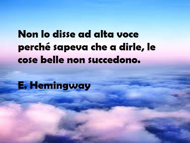 hemingway frasi celebri