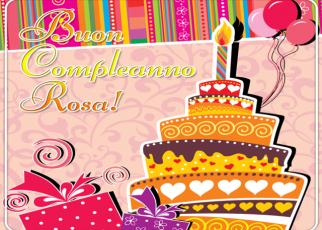immagini buon compleanno rosa