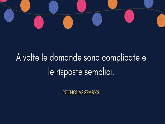 Nicholas Sparks frasi