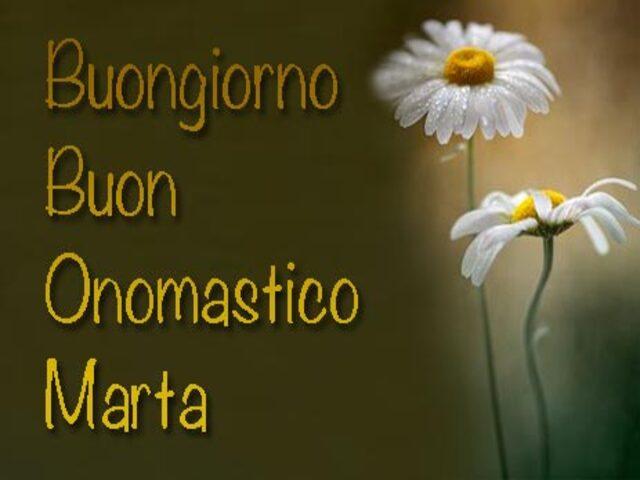 onomastica santa marta