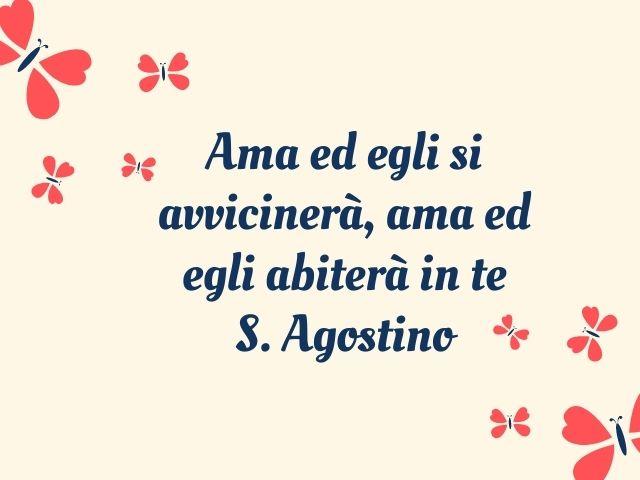 sant agostino frasi