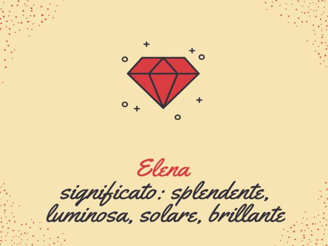 significato nome elena