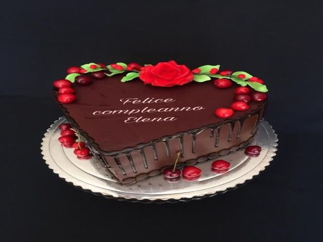 torta di compleanno Elena