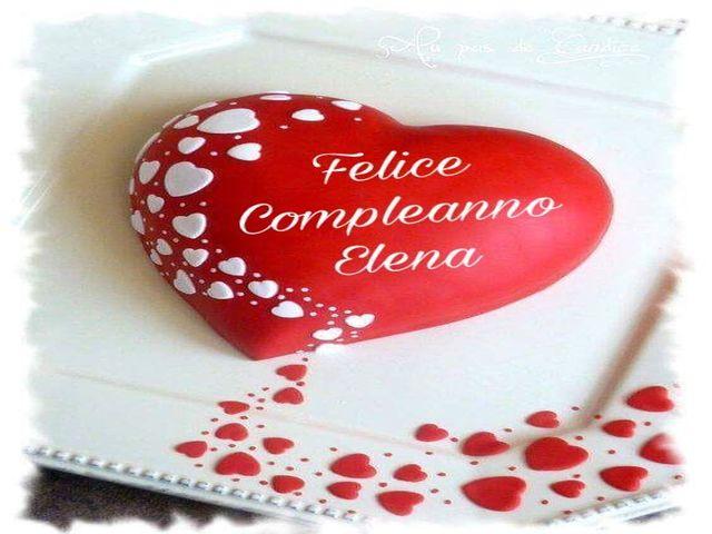 torta compleanno Elena